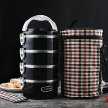 Heißer mittagessen boxen gesunde lebensmittel container bento boxen metall lunchboxes bieten heißer packs und wellness für kinder der schulen