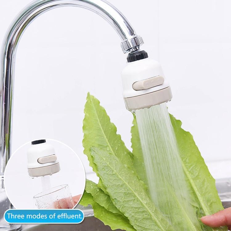 Kitchen Faucet Kitchen Moveable Flexible Tap Head Shower Diffuser Rotatable Nozzle Adjustable Booster Faucet Kitchen Accessories