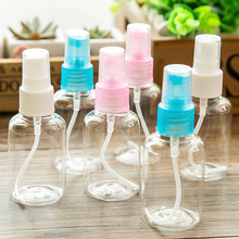 Lots 50Pcs  50ml Portable Clear Travel Empty Spray Bottles Plastic PET Clear Sample Vials Cosmetic Perfume Atomizer Watering can