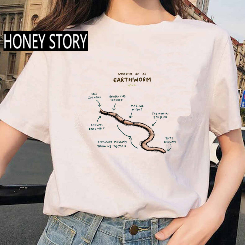 Summer Animal Hedgehog Analysis Print Women T shirt Creative Fashion Pattern Female Short Sleeve Cotton Clothes 6
