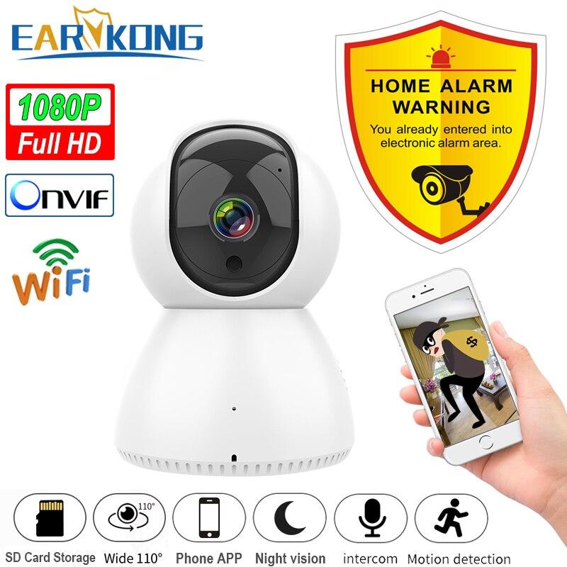IP-камера EARYKONG для домашней системы безопасности с поддержкой Wi-Fi