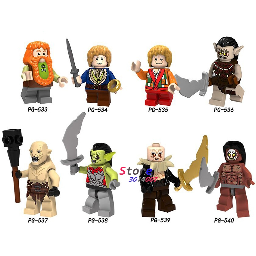 Single Sale The Lord Of The Rings Azog Strong Orc Building Blocks Bricks Collection Sets Model Toys For Children
