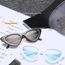 Fashion Sunglasses Leopard Retro Female Vintage UV400 Women New White Black Red Cat-Eye