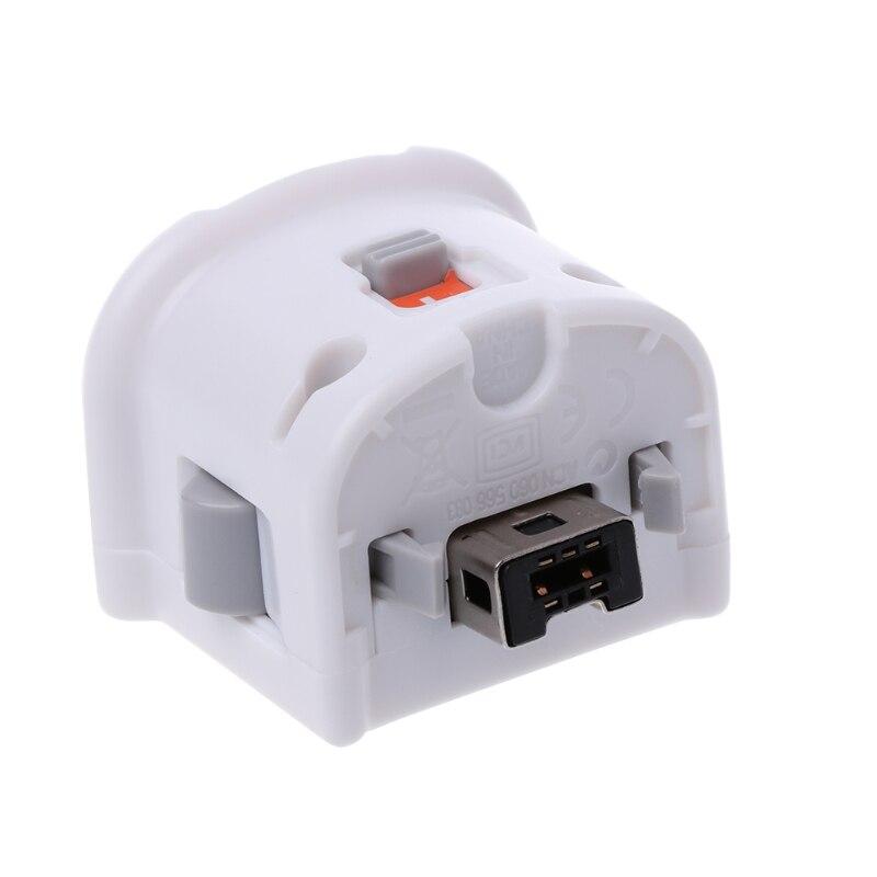 K5DB 1PC External Motion Plus Adapter Sensor for nintendo Wii/Wii U Remote Controller