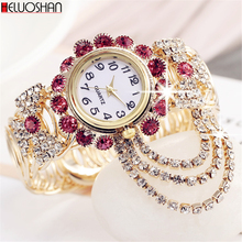 2019 Top Brand Luxury Rhinestone Bracelet Watch Women Watches Ladies Wristwatch Relogio Feminino Reloj Mujer Montre Femme Clock reloj mujer top brand contena watch women watches rose gold bracelet watch luxury rhinestone ladies watch saat relogio feminino