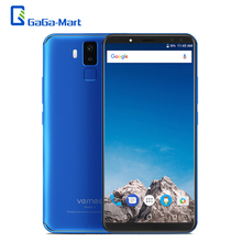 Vernee X1 4G 6200mAh Face ID mobile phone 6+64GB Helio P23 M