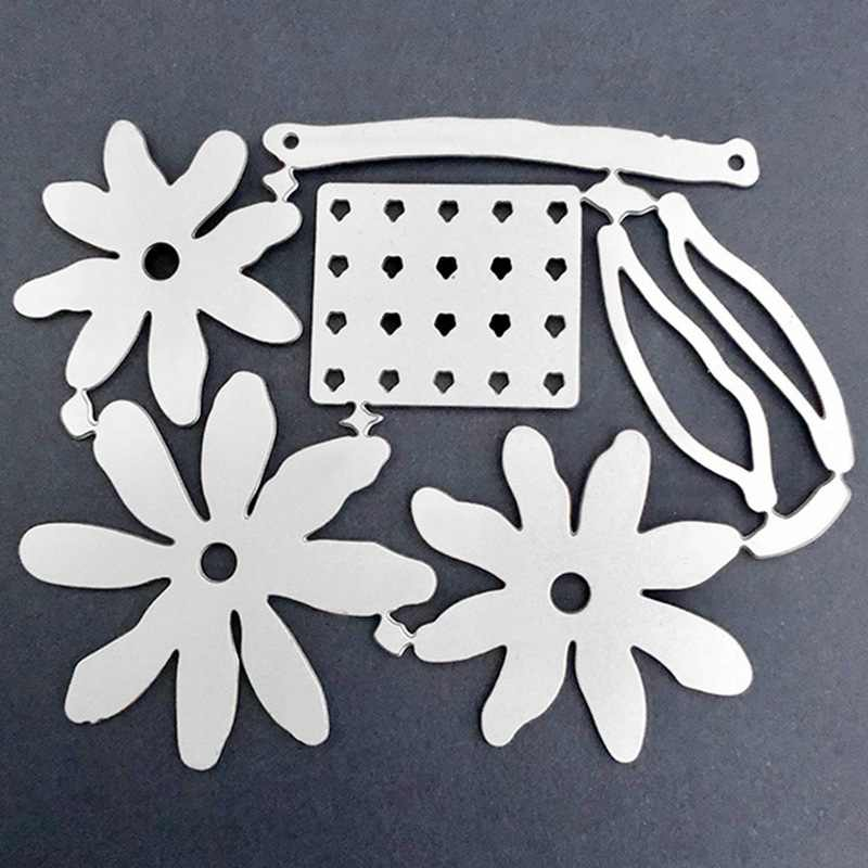 3D 花金属切削ダイスカット金型新花 Shasta デイジースクラップブック紙クラフトナイフ金型ブレードパンチステンシルダイス