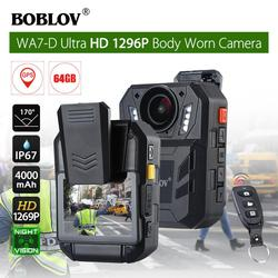 For BOBLOV WA7-D HD 1296P 2.0 Body Worn Surveillance Camera Recorder with Infrared Night Vision Mini Camcorder r60