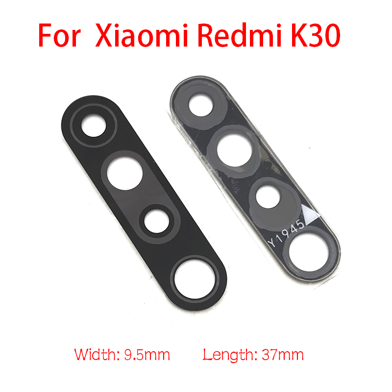New Camera Glass For Xiaomi Redmi K30  Rear Back Camera Glass Lens With Glue Adhesive