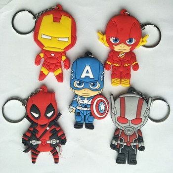 Superhero Keychains Collectible (5 designs) 1
