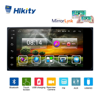 Hikity Android 8.1 2 Din 7Car radio Multimedia Car Player Universal Mirror link Bluetooth GPS Navigation Audio WIFI For Toyota