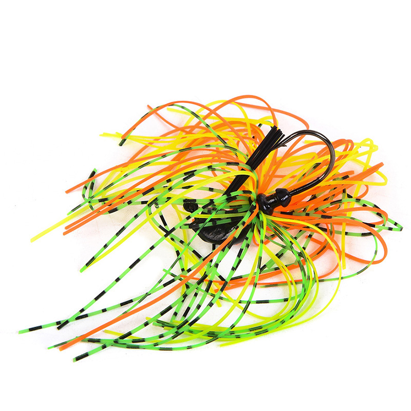 1Pcs 7g 10g 14g Finesse Chatter bait spinnerbait fishing lure Buzzbait wobbler chatterbait for bass pike walleye fishing tackle-4