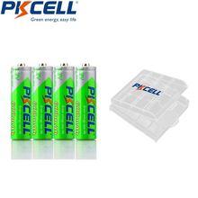 Аккумуляторы pkcell aaa 12 в 600 мА · ч 4 шт
