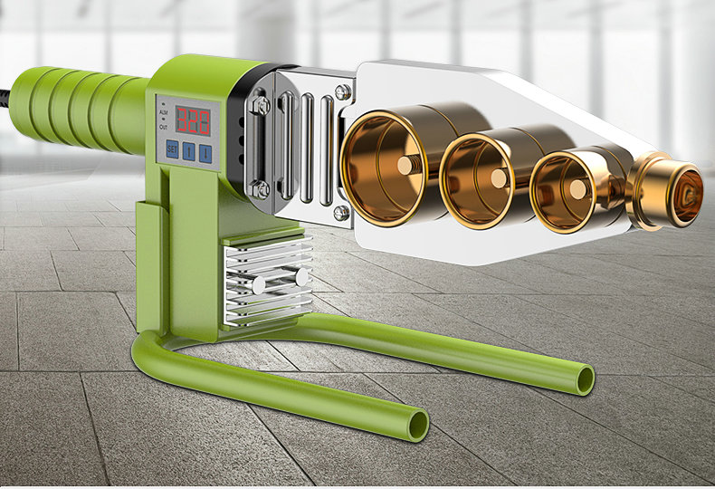 AC220V Digital Thermostat Tube Fuser, Water Pipe Welding Machine, Suitable For PPR/PE/PB Materials, Multi-style Optional