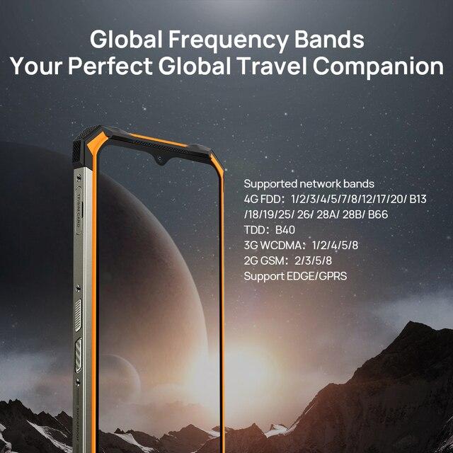 DOOGEE S88 Plus Rugged SmartPhone 48MP Main Camera 8GB RAM 128GB ROM IP68/IP69K smart phone Android 10 OS Global version 3
