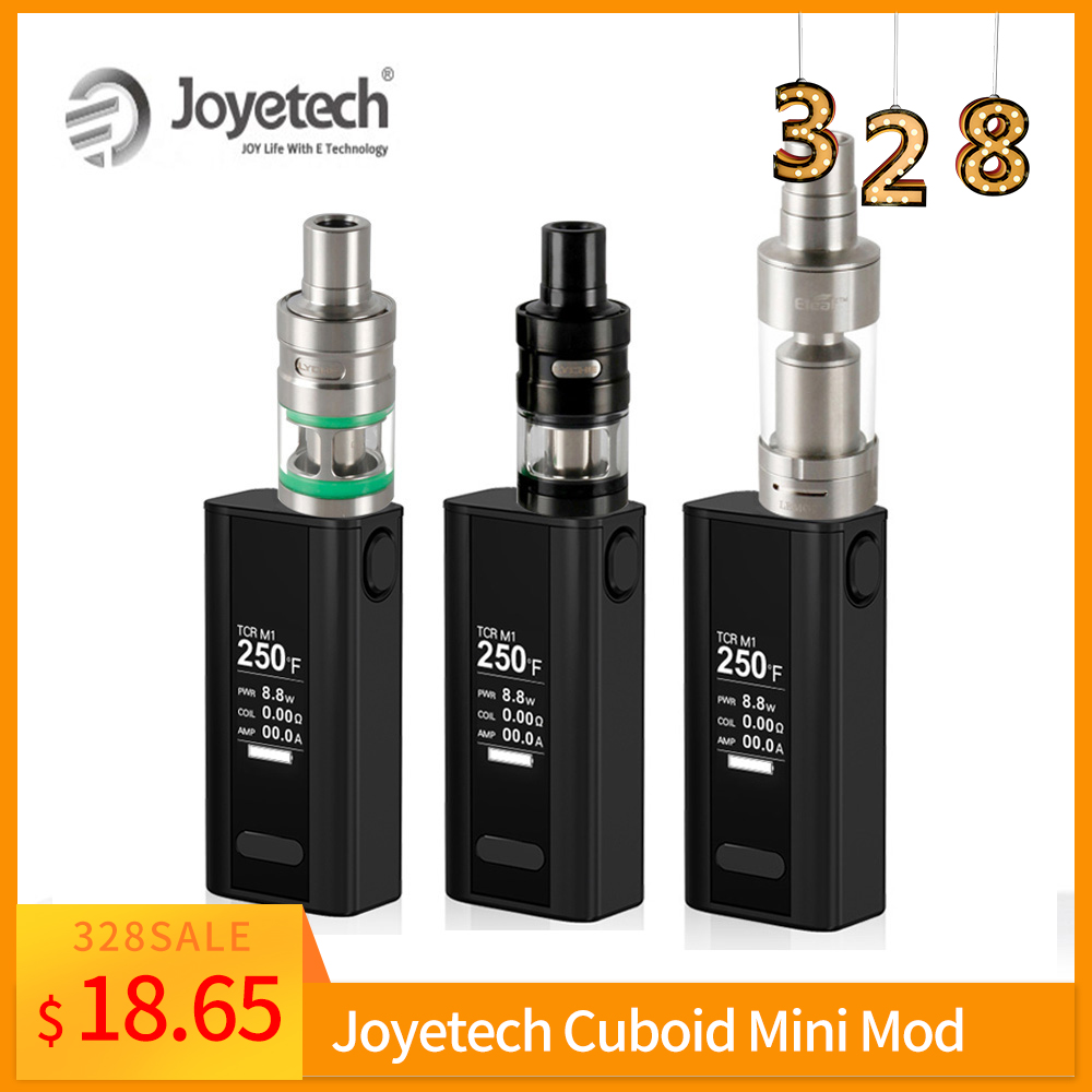 [RU] Simple Package Original Joyetech Cuboid Mini Battery 80W Built In 2400mAh Cuboid Mini VT/TC Mode Vape Mod E-Cigarette