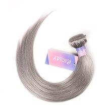 Silber Grau Brasilianische Haarwebart Bundles KEMY 1PC Rosa Menschliches Haar Bundles 10 26 zoll Menschliches Haar Verlängerung nicht remy Haar Bundles