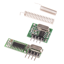 1Pc 433 Mhz 원격 제어 무선 모듈 Diy 키트 Arduino Uno 용 433 Mhz 수퍼 헤테로 다인 RF 수신기 및 송신기 모듈