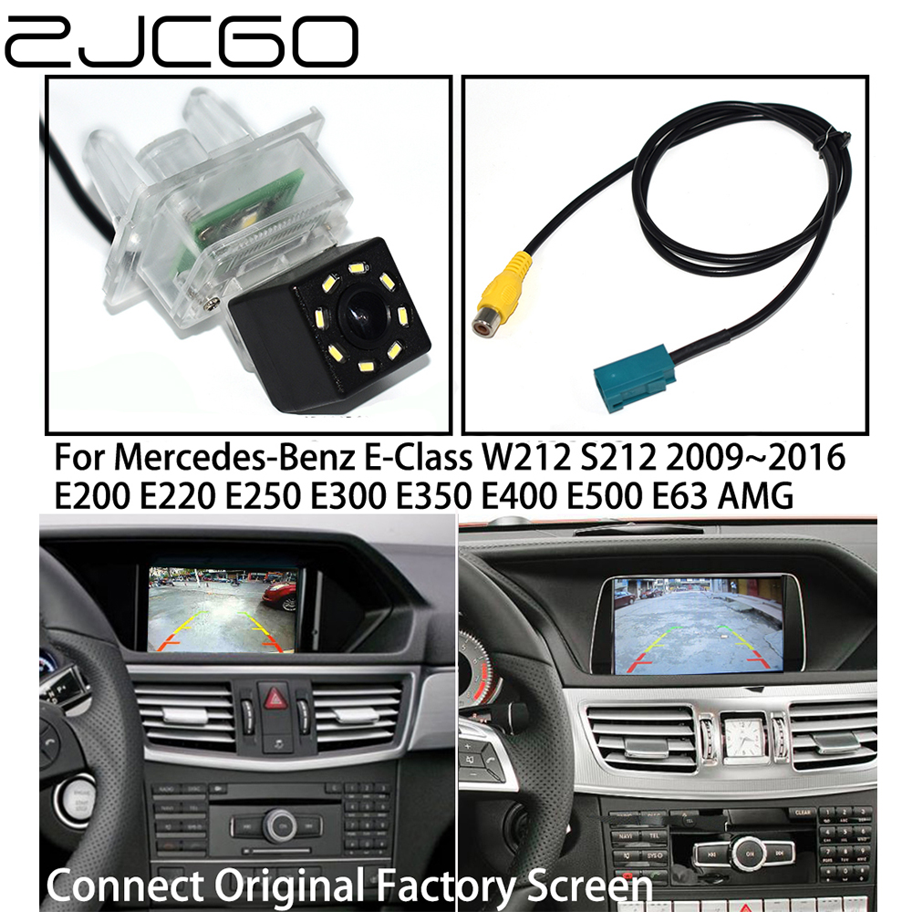 ZJCGO Car Rear View Reverse Back Up Parking Camera For Mercedes Benz MB E Class W212 S212 E200 E220 E250 E300 E350 E400 E500 E63