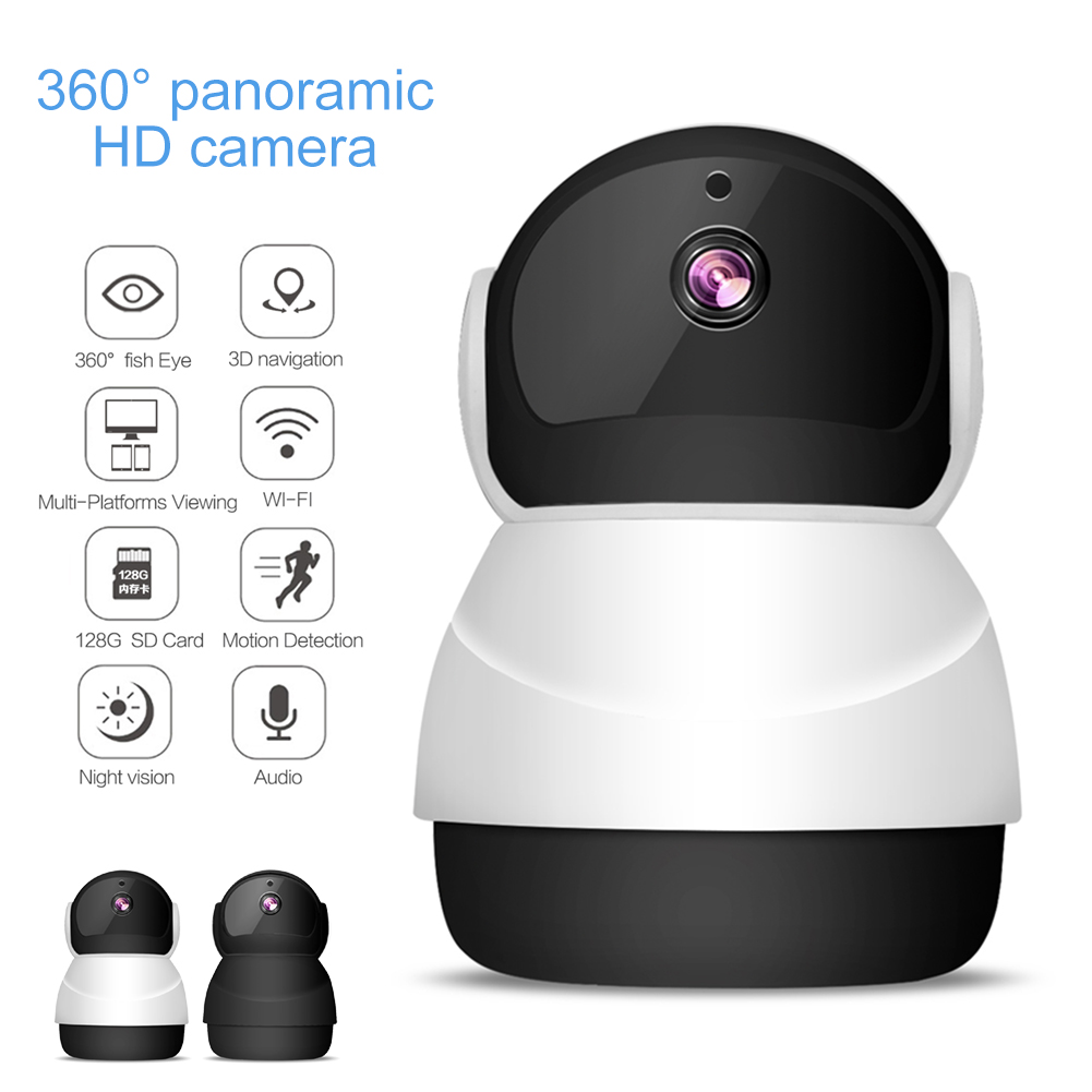 Wireless WiFi HD 1080P IP Camera Home Security Network Baby Monitor Motion