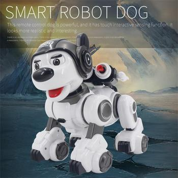 Interaction Smart Robot Dog Infrared Remote Control Kid Toy Sing Dance Tell Story Robot Dog Toy Electronic Pet Kid Birthday Gift