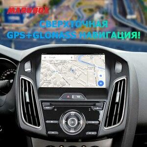 Image 2 - MARUBOX Radio Multimedia con GPS para coche, Radio con reproductor, Android 2011, 8 núcleos, 64G, IPS, PX5, KD9019, para Ford Focus 3 2018 a 10,0