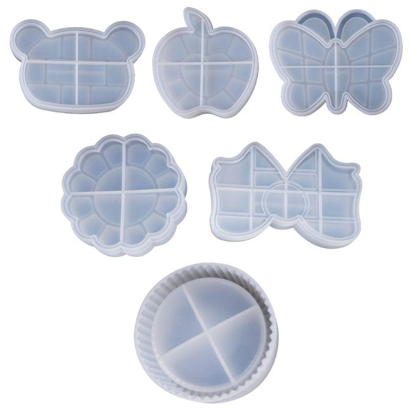 UV Crystal Resin Decorative Craft DIY Bear Butterfly Storage Box Epoxy Mold