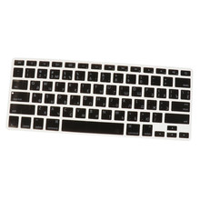 "Silicone russe-anglais ordinateur portable clavier lettre autocollant Film peau couverture pour Apple MacBook Pro Air 13 ""clavier housse de protection(China)"