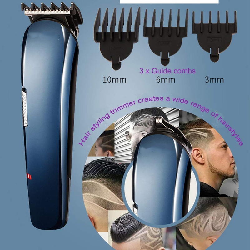 sem fio electic grooming kit com clippers