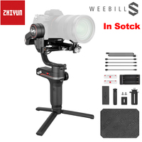 InStock Zhiyun Weebill S Portable 3 Axis Handheld Gimbal Stabilizer OLED Display for Canon EOS R A7M3 Z6 S1 Mirrorless Camera