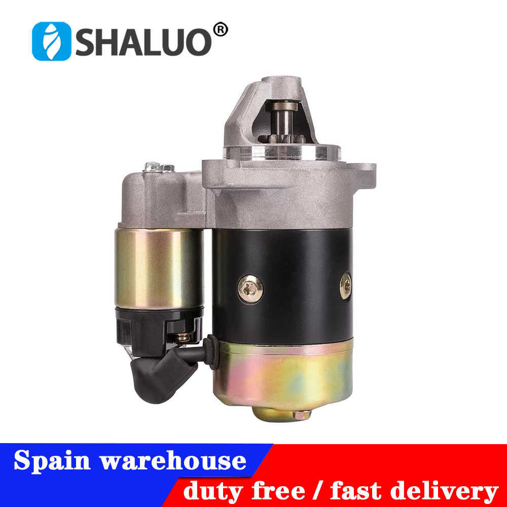 low freight QD114A 12V 0.8KW Engine diesel Generator Motor Starter Copper fit 170F 178F 186F Engine starter motor high quality