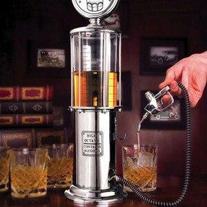 New 1000CC Beer Beverage Dispenser Machine Vessels Double Gun Pump Transparent Layer Design For Kitchen Bar Party Accessories