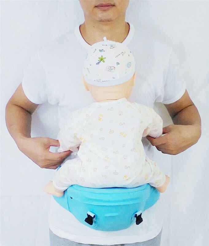 Gooremonter porte-bébé taille tabouret marcheurs bébé fronde tenir la taille ceinture sac à dos ceinture Hipseat enfants infantile hanche siège