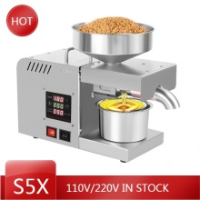 Intelligent Extraction-Machine Oil-Press Commercial Stainless-Steel X5S Automatic Hot-And-Cold-Oil