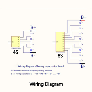 Image 5 - Lifepo4 balanceador de equilibrio de energía, balanceador de equilibrio activo, placa de transferencia de energía 3S 4S 6S 7S 10S 12S 13S 14S 16S 17S BMS