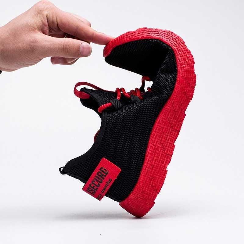 LOOZYKIT мужские кроссовки 9908 Повседневное Нескользящая Для мужчин Вулканизированная обувь дышащая мужская обувь из сетчатого материала на шнуровке; износостойкая обувь; tenis masculino; большие размеры