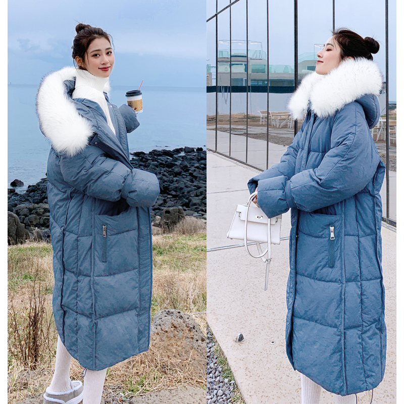 New arrival 2019 women winter long parka cotton padded warm coats fash_A6_7