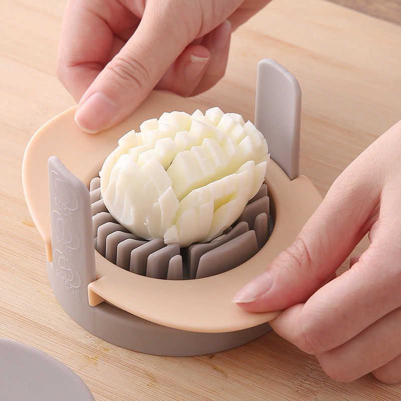 เครื่องตัดไข่ไข่อเนกประสงค์ Everything สองหั่นเครื่องตัดแฟนซีครึ่งไข่ตัด Pine ไข่ไข่ไข่ Artifact ครัวเครื่องมือ