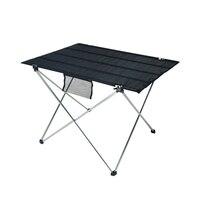Bureau de Table pliant Ultra léger en alliage d'aluminium petite taille Portable pliable Table pliante bureau Camping pique nique en plein air Tables de plein air    -