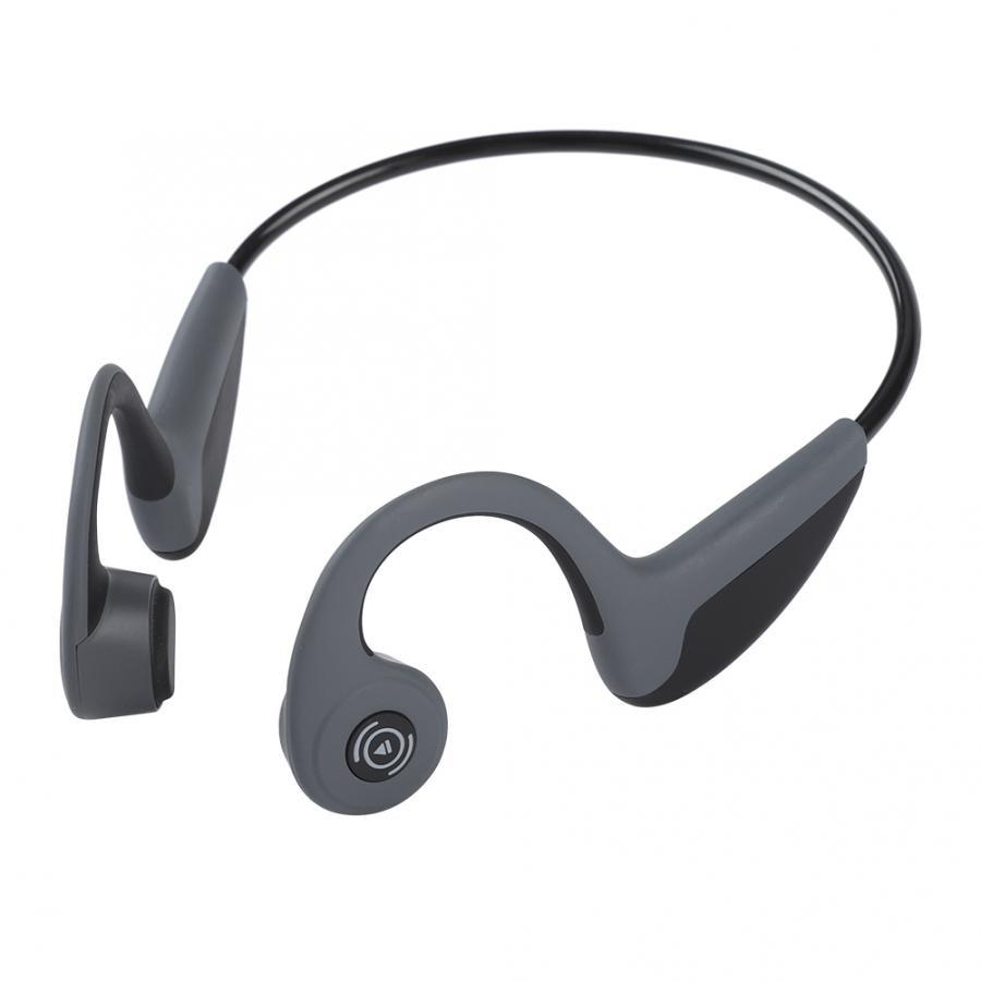 Bluetooth-наушники BT4.2 с костной проводимостью, беспроводная спортивная Гарнитура, стереонаушники с микрофоном, наушники