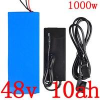 48V 10AH akku 48V 10AH elektrische fahrrad batterie 48V 500W 750W 1000W lithium  batterie 48V roller batterie kostenloser gewohnheiten steuer|Elektrofahrrad Akku|Sport und Unterhaltung -