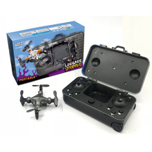 Hotty Toy DH120 2.4G 4CH 0.3MP WIFI FPV Camera Portable Drone RC Quadcopter Suitcase Style Mini UFO Pocket for Kids RTF