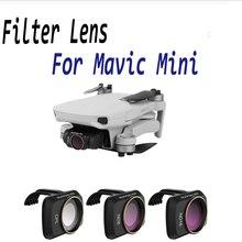 Voor Dji Mavic Mini Drone Filters Lens Protector Filter Cpl + ND8 + ND16 Polar Neutral Density Filter Voor Mavic mini Accessoires