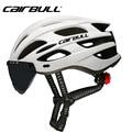 CAIRBULL дорожный велосипедный шлем мягкий Сверхлегкий Велоспорт EPS интегрально-Формованный горный велосипедный шлем очки Кепка голова открыт...
