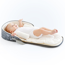 Baby Bed Travel Sun Protection Breathable Mesh Net With Portable Bassinet Baby Foldable Breathable Infant Sleeping Basket