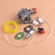 LETAOSK Carburetor Gaskets Fuel Line Kit 545008042 545189502 Fit For Poulan PP338PT PP133 Pro PP333 Zama C1M-W44 Gas Trimmer
