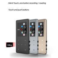 Mode Ultra-dünne Und Cool Tragbare MP3 MP4 Player LCD Screen FM Radio Video Gebaut-in Mikrofon Hohe-fidelity Aufnahme