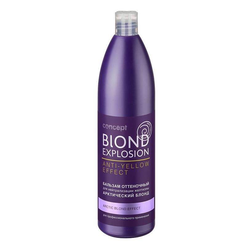 Tinted Hair Balm Concept, Effect Arctic Blonde, 1000 Ml