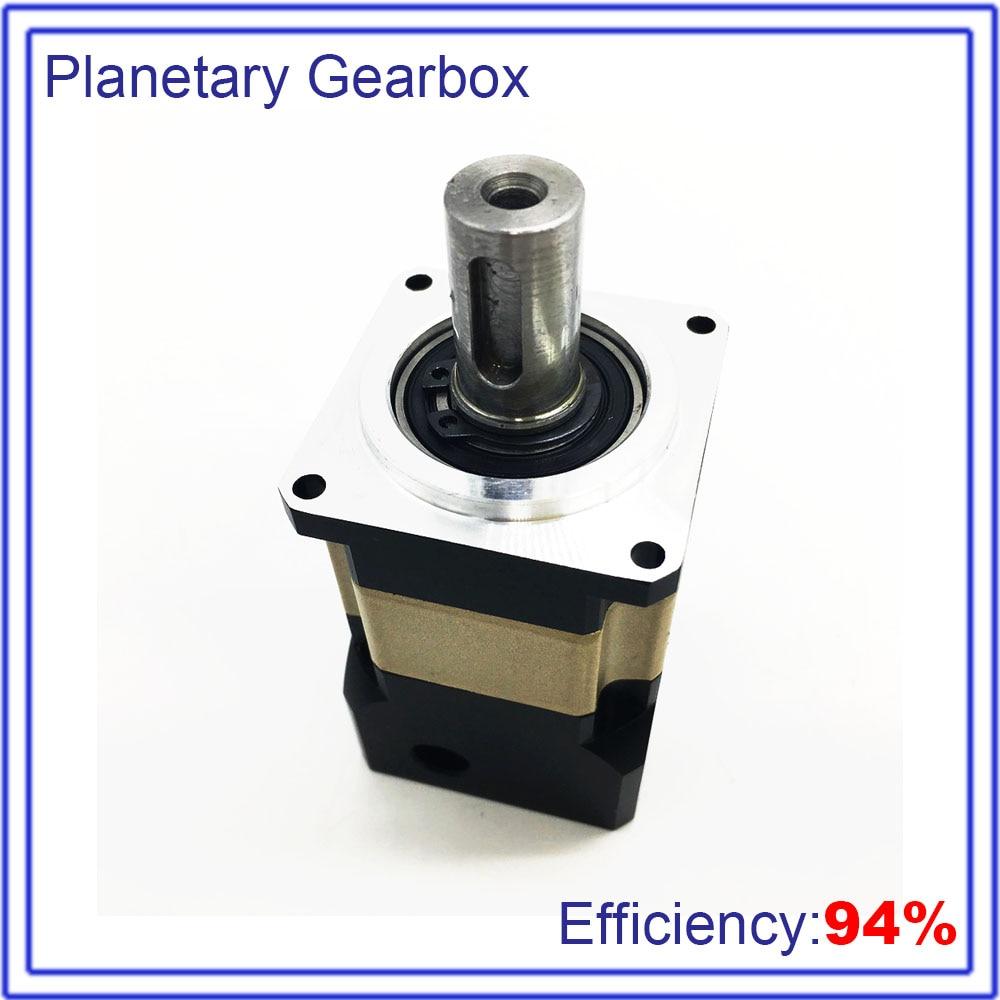 35:1 Gearbox Speed Ratio35 Planetary Reducer High Precision  8mm Shaft Reducer 4000rpm for CNC Robot 50W 100W 40mm Servo Motor