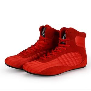 Image 2 - حذاء احترافي لرفع الأثقال من TaoBo للرجال والنساء حذاء للتدريب على القرفصاء مصنوع من الجلد مضاد للانزلاق ومقاوم للرفع الأثقال مقاس 36